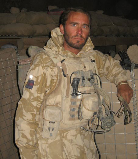 Tim Wates in Afghanistan