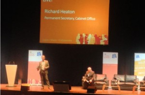 Civil Service Live Bristol: Permanent Secretary Richard Heaton on stage