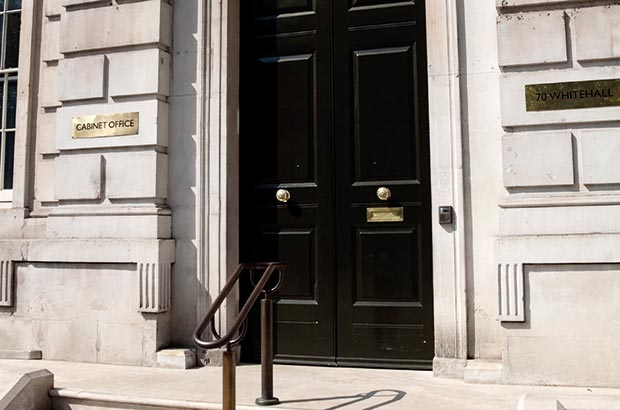 Entrance to the Cabinet Office