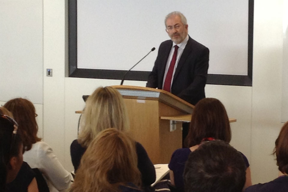 Sir Bob Kerslake addresses the job share network