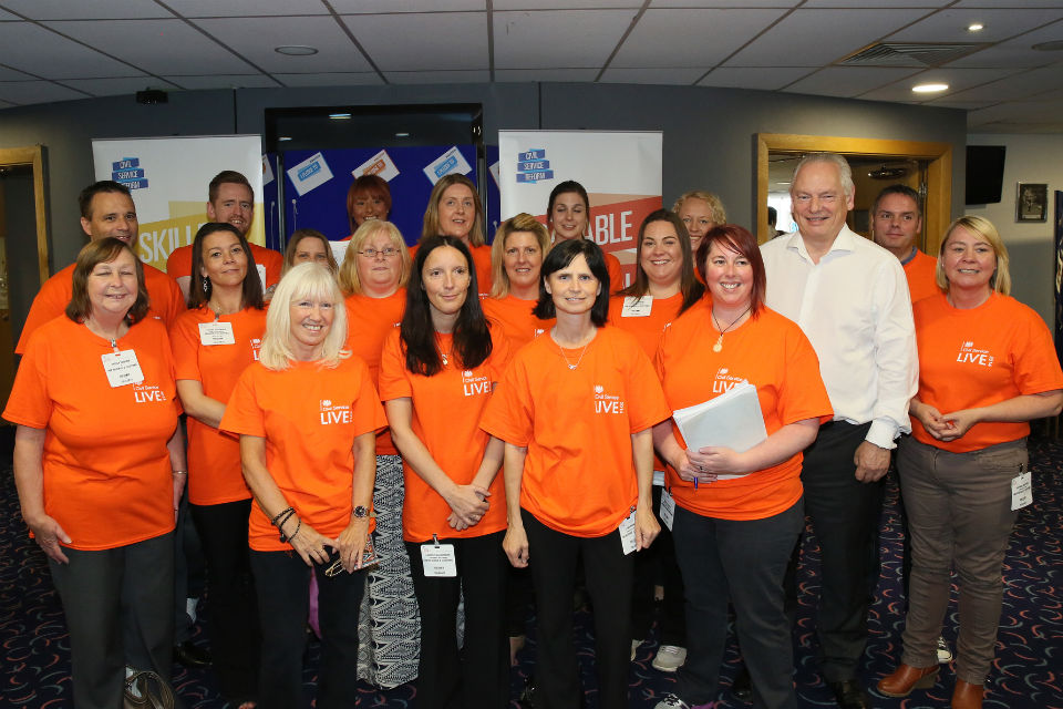 Rt Hon Francis Maude with CS Local volunteers