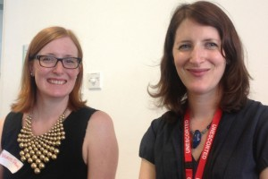 Verity Prime and Deborah Brooks from the Job Share network