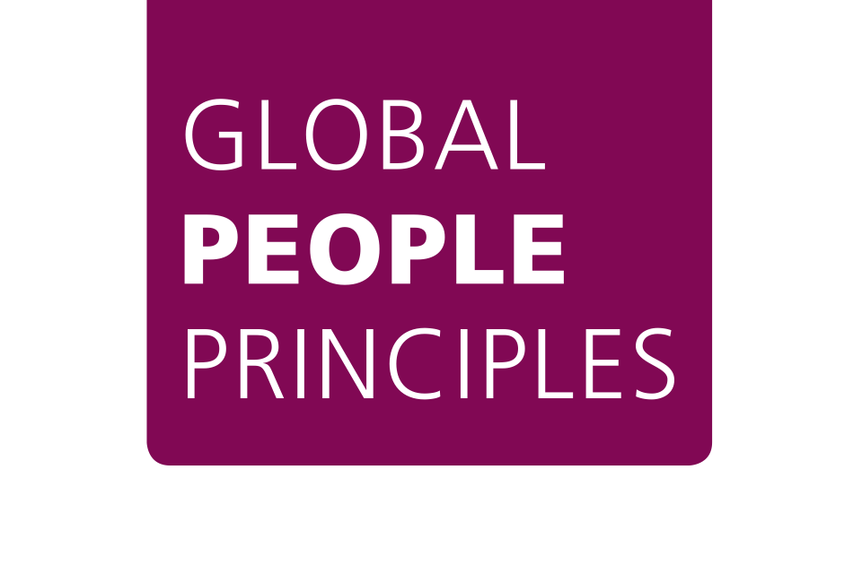 Global People Principles logo