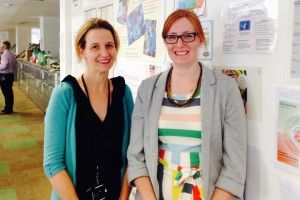 Job sharers Merran and Verity in the Department for Education