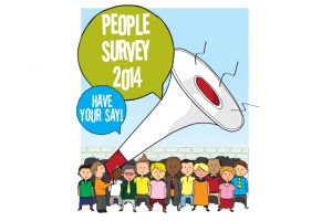 Poster for People Survey 2014