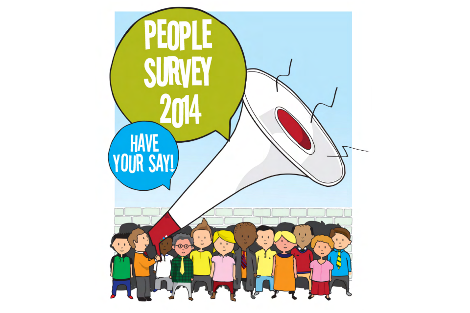 People Survey 2014 poster