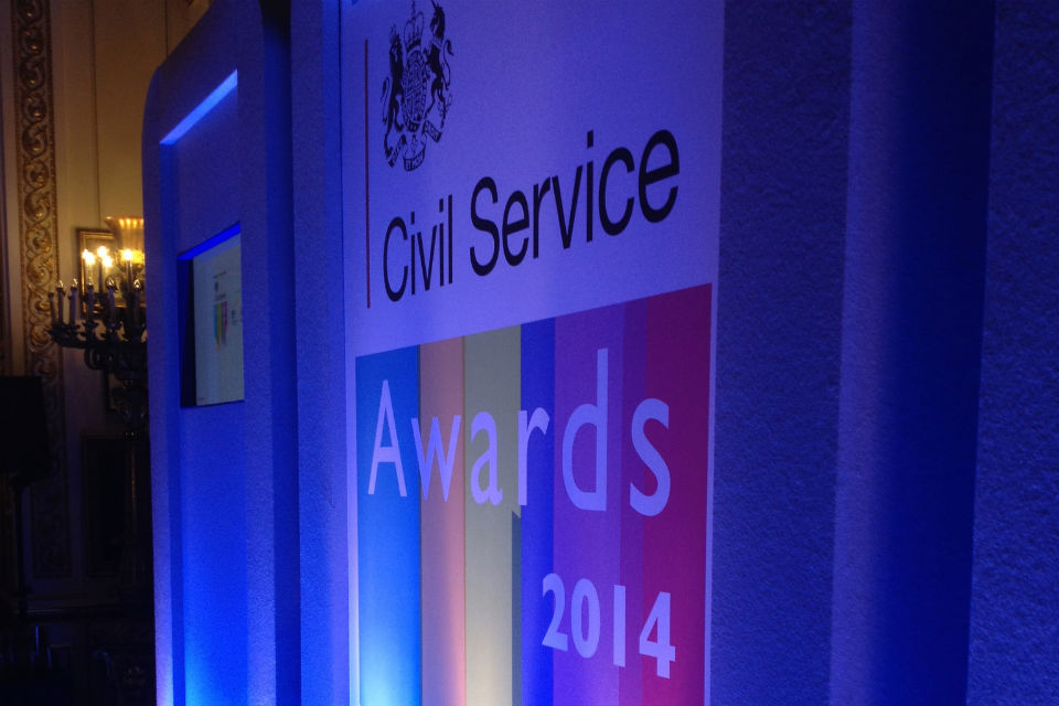 Civil Service Awards 2014 poster