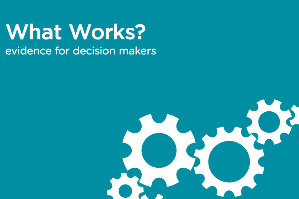 what works report front cover
