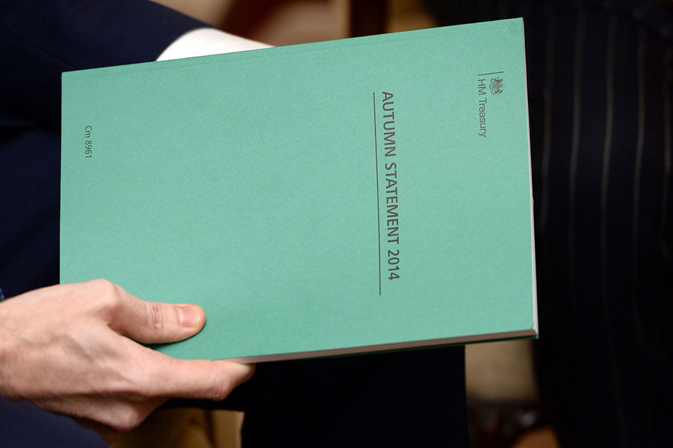 Picture of the autumn statement