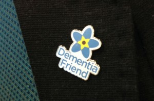 Dementia Friend lapel badge