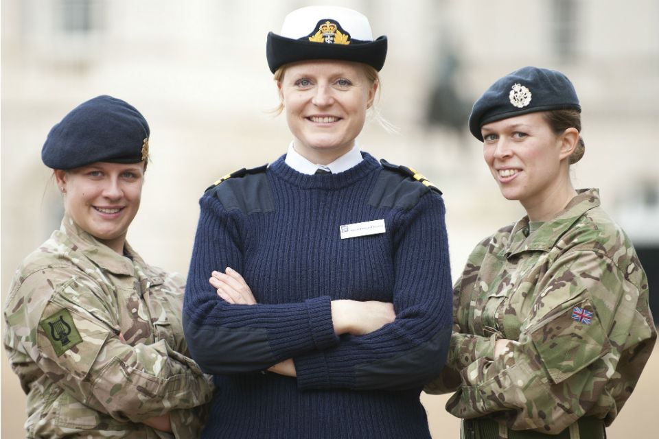 female civil service reservists