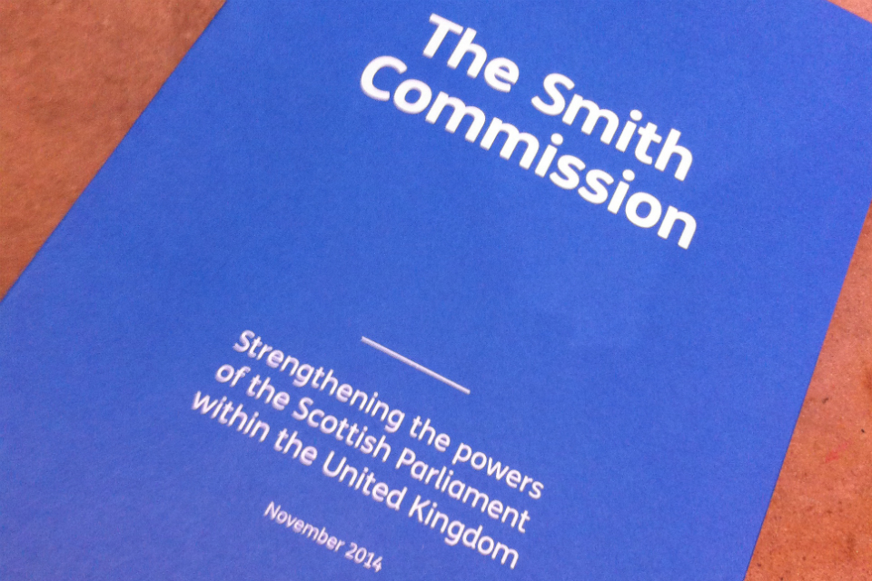 Smith Commission front cover