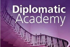 screenshot of the diplomatic academy logo