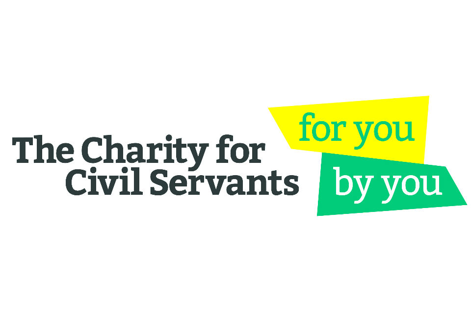 Logo of the The Charity for Civil Servants