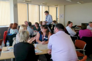 Leadership workshop in Plymouth
