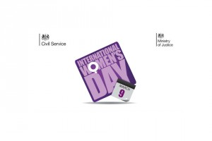 Civil Service International Women's Day logo