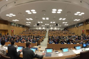 Delegates at UN Statistical Commission