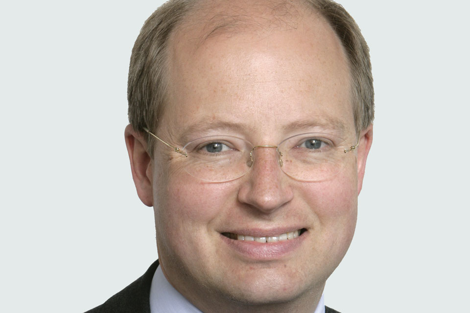 Philip Rutnam, Perm Secretary for the Department for Transport and Civil Service Disability Champion