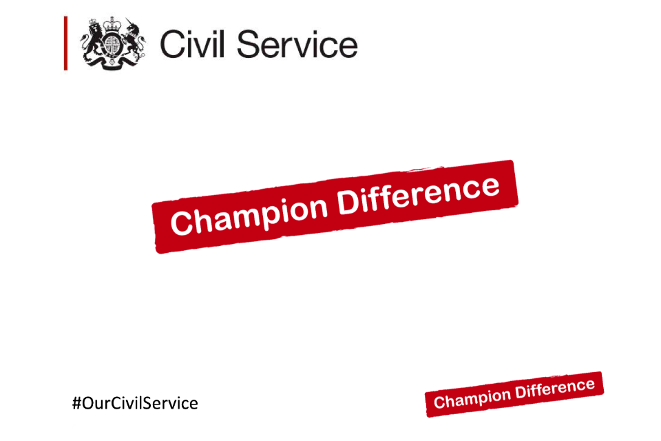 TAP Refresh 'Champion Difference' logo
