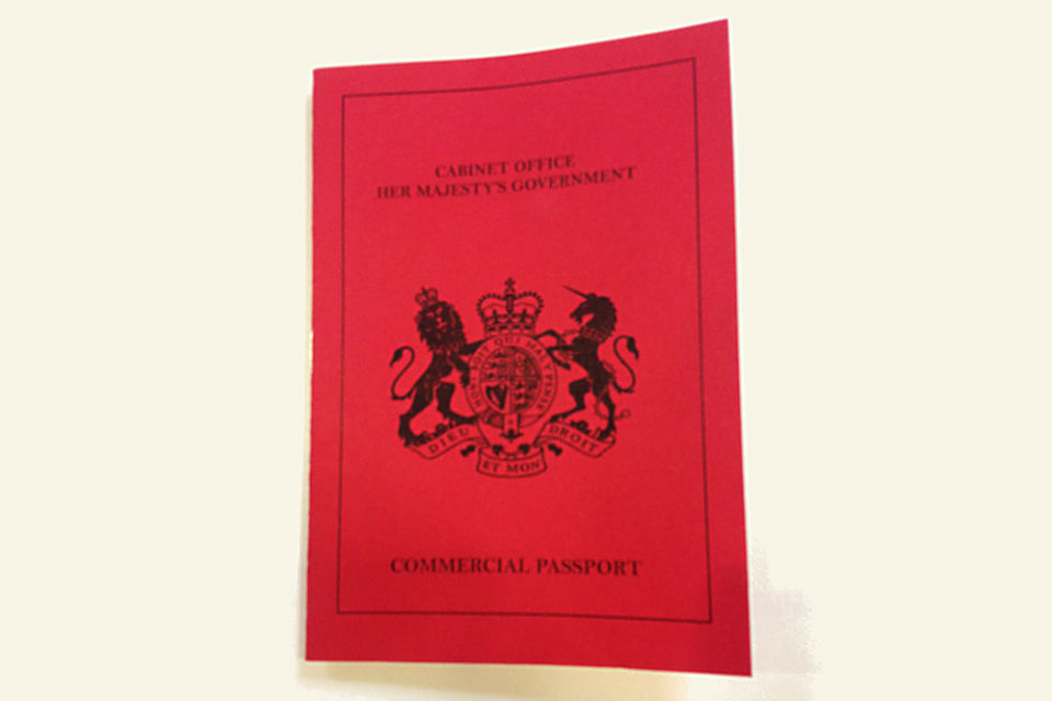 Cabinet Office Commercial 'passport'