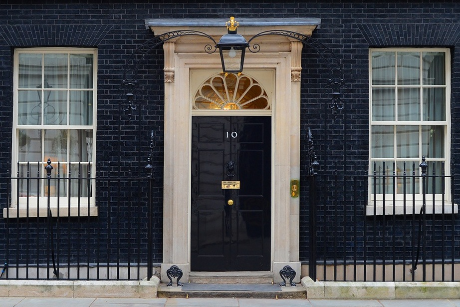 Front of Number 10 Downing Street
