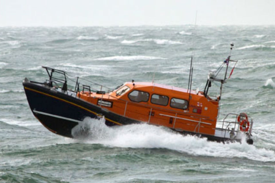 A Shannon class lifeboat.