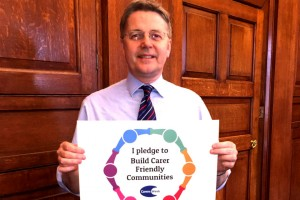 Sir Jeremy Heywood's Carers Week pledge to support carers.