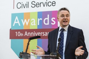 Sir Jeremy Heywood speaking at the launch of the 2015 Civil Service Awards