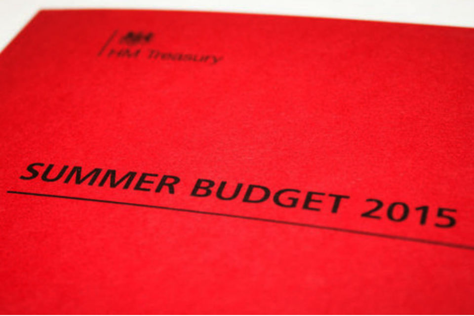 Summer Budget 2015 document