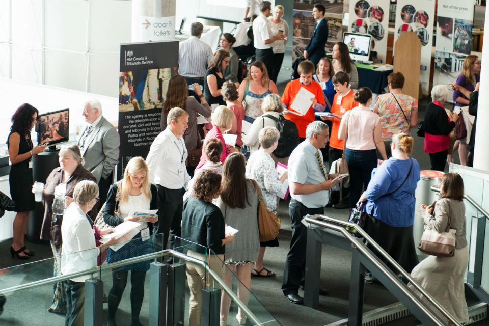 Delegates at Civil Service Live: Bristol 2014