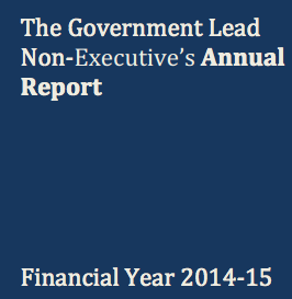 Government Lead Non-Executive Annual Report 2014-15