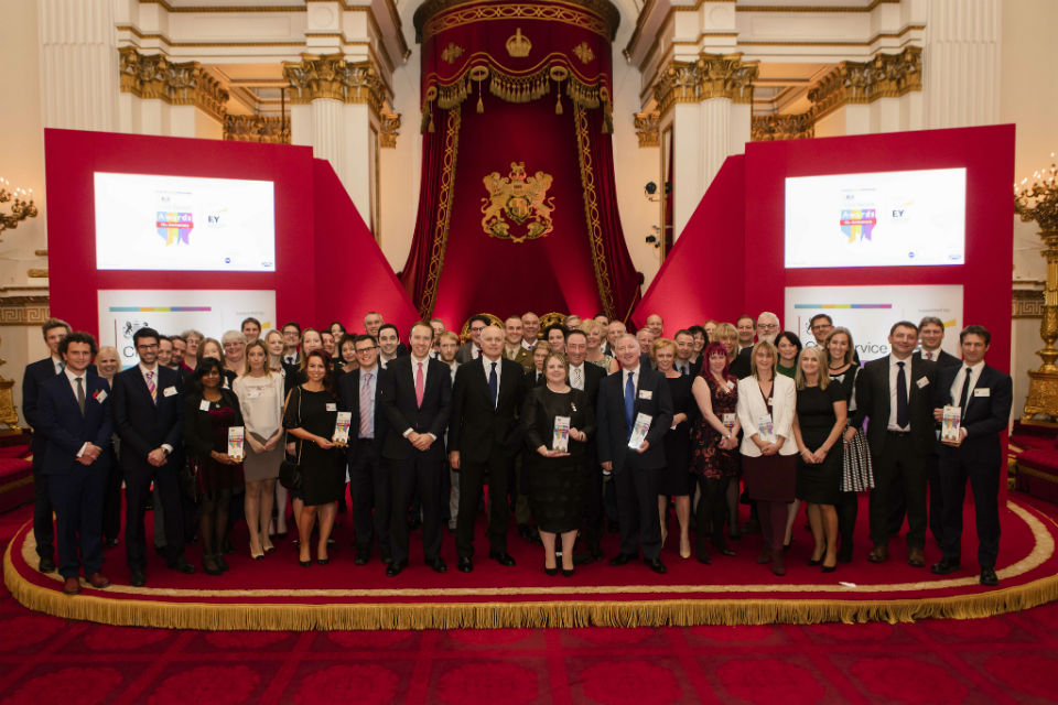 Civil Service Award winners 2015