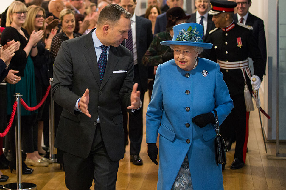 Mark Sedwill, Perm Sec Home Office, and The Queen