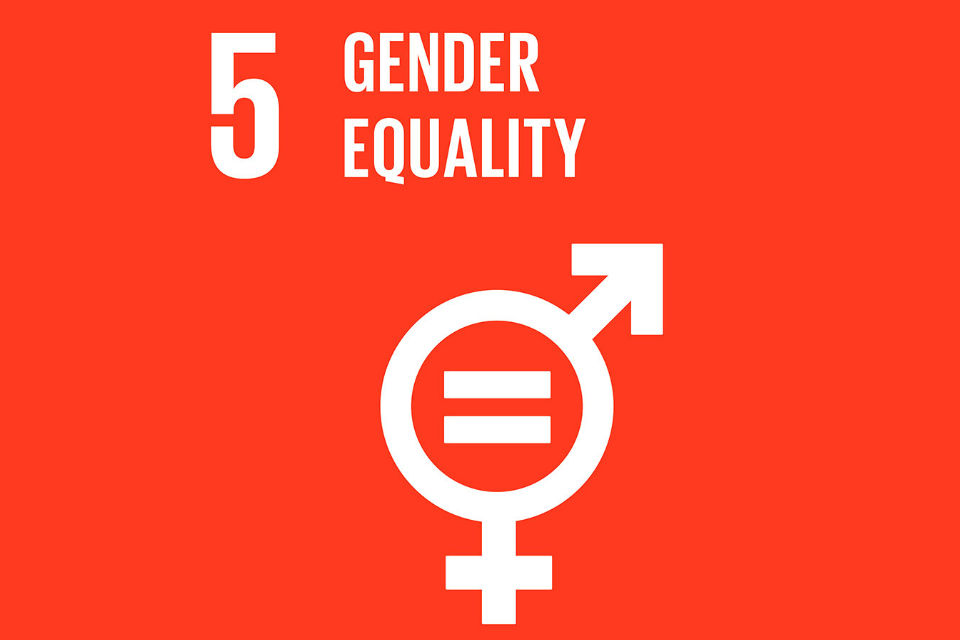 Global Goal number 5: Gender equality