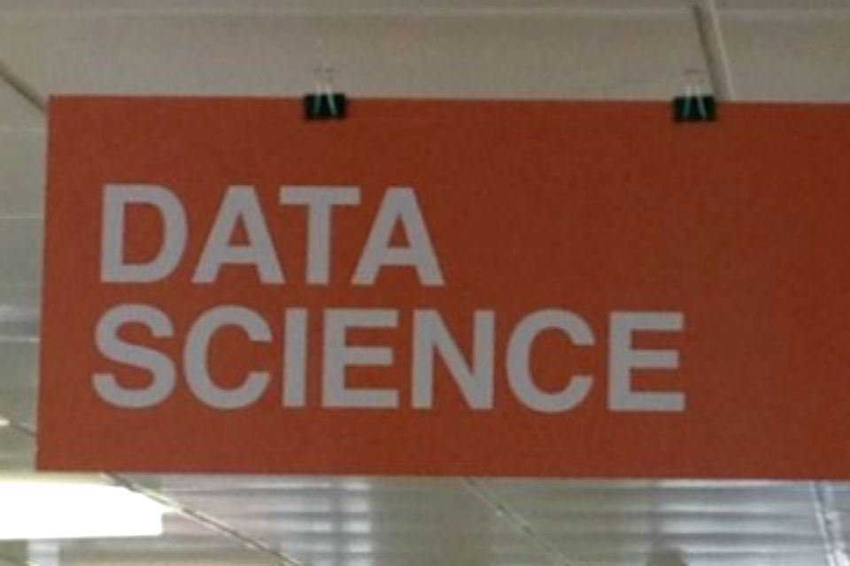 Data science sign