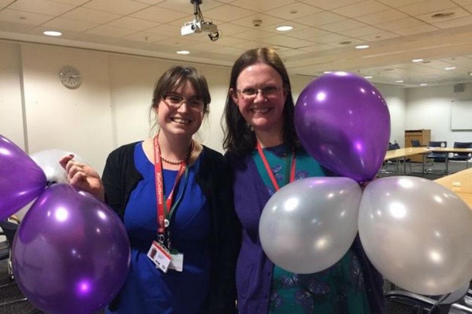 Co-Chairs Eleanor Binks and Keela Shackell-Smith
