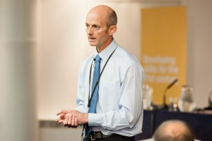 Philip Rycroft presenting a session at Civil Service Live 2015 Manchester