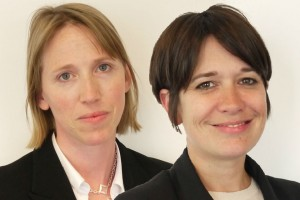 Head and shoulders ofSusannah Storey (left) and Jo Shanmugalingam