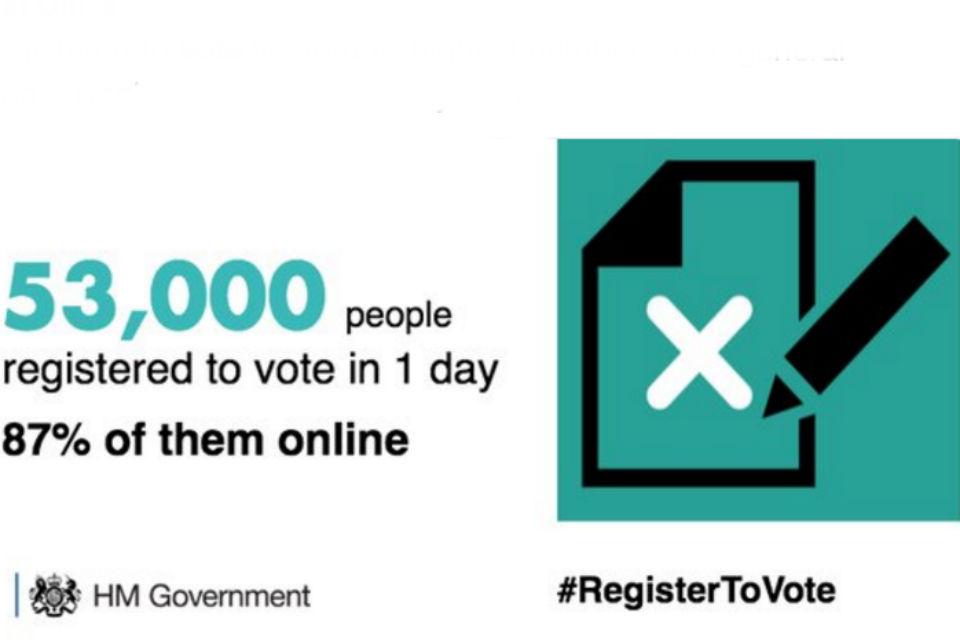 Register to vote graphic