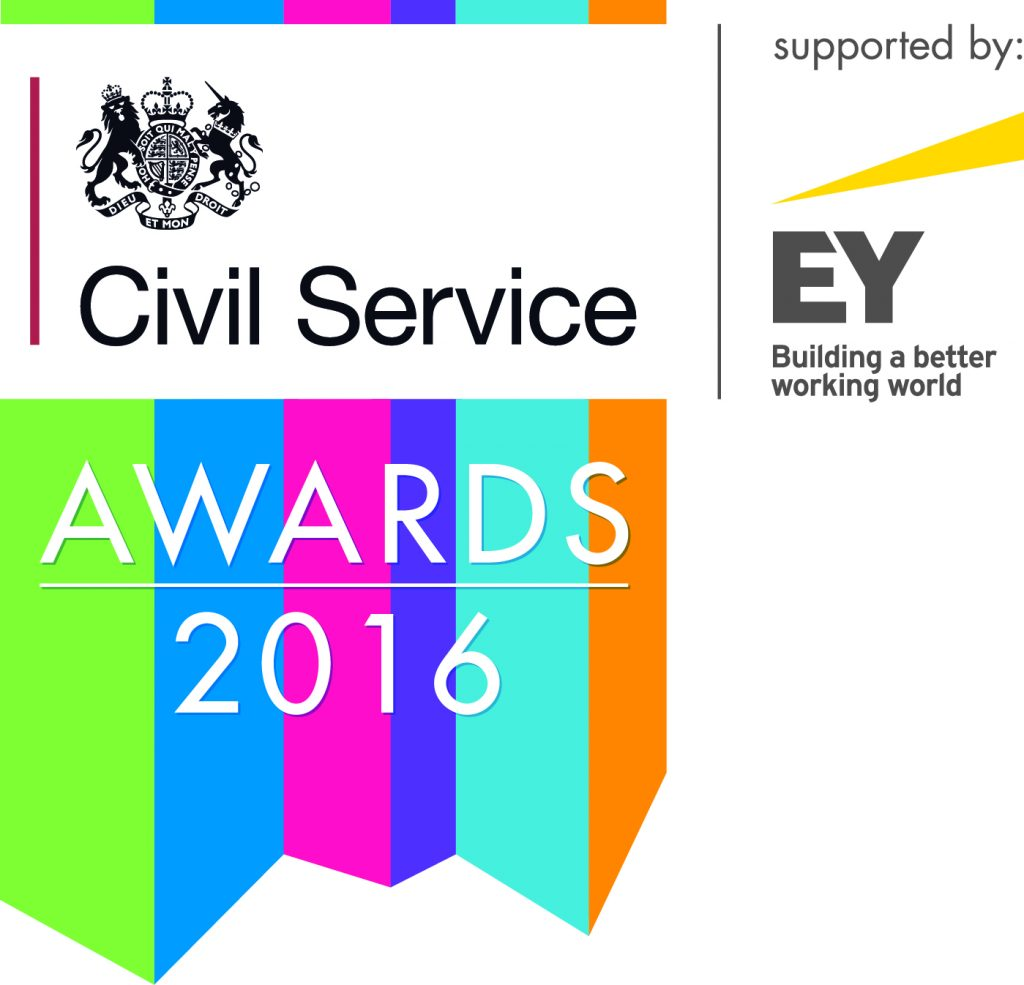 Civil Service Awards 2016 logo