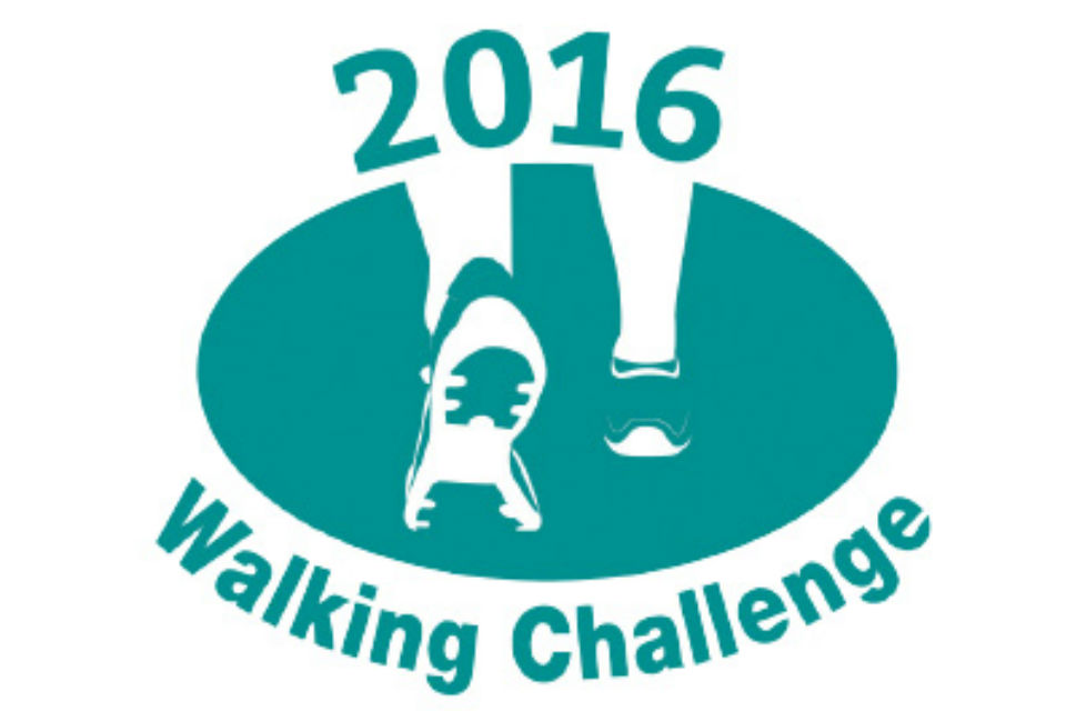 The Charity for Civil Servants logo for Walking Challenge 2016 logo
