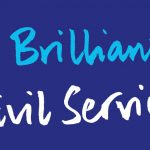 Graphic with legend 'A Brilliant Civil Service'