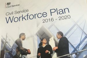 Front cover of Civil Service Workplan