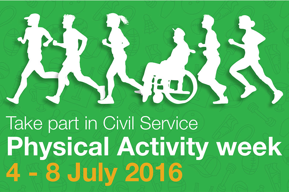 Physical Activity Week poster