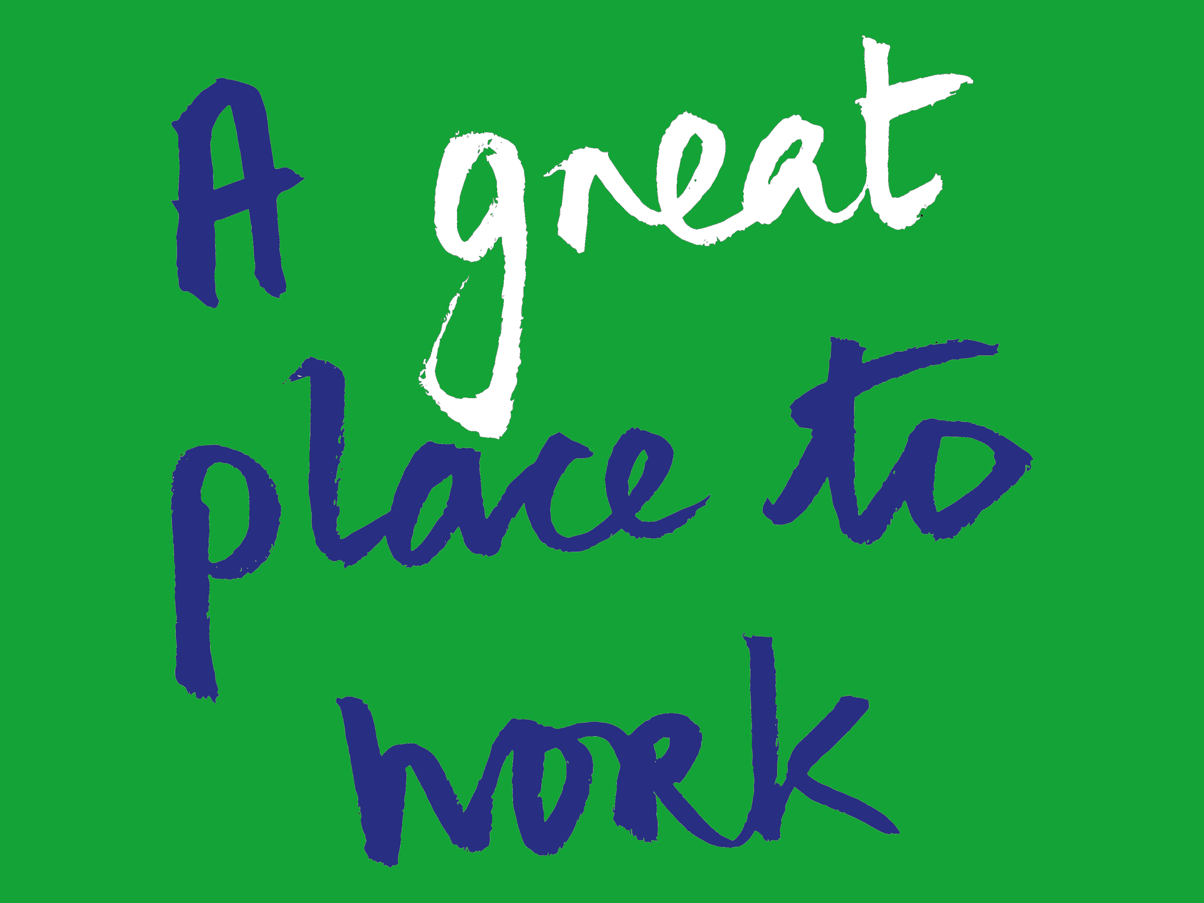 'A great place to work' logo