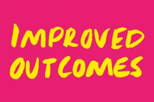 'Improved outcomes' logo