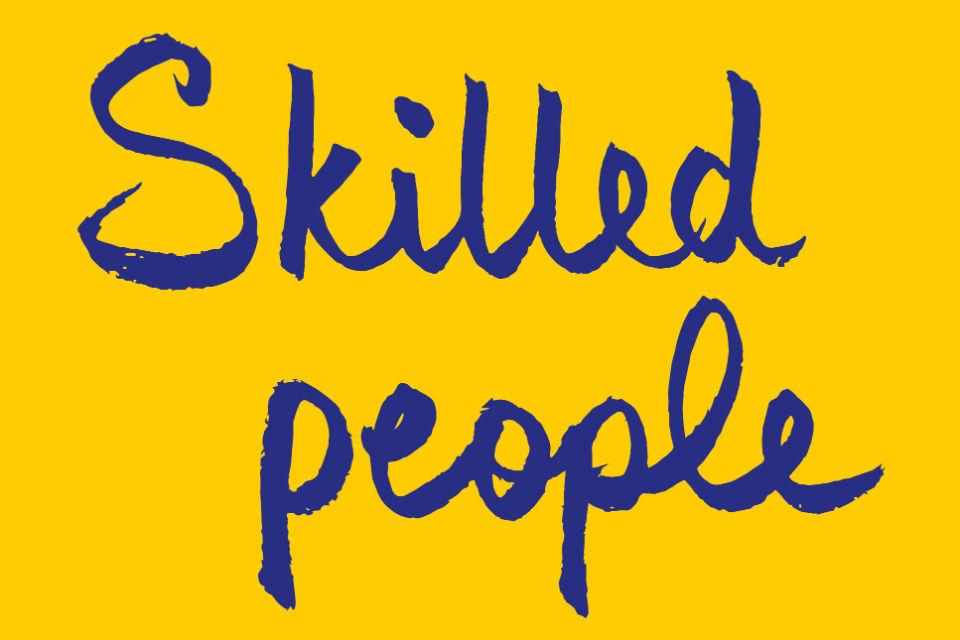 'Skilled people' logo