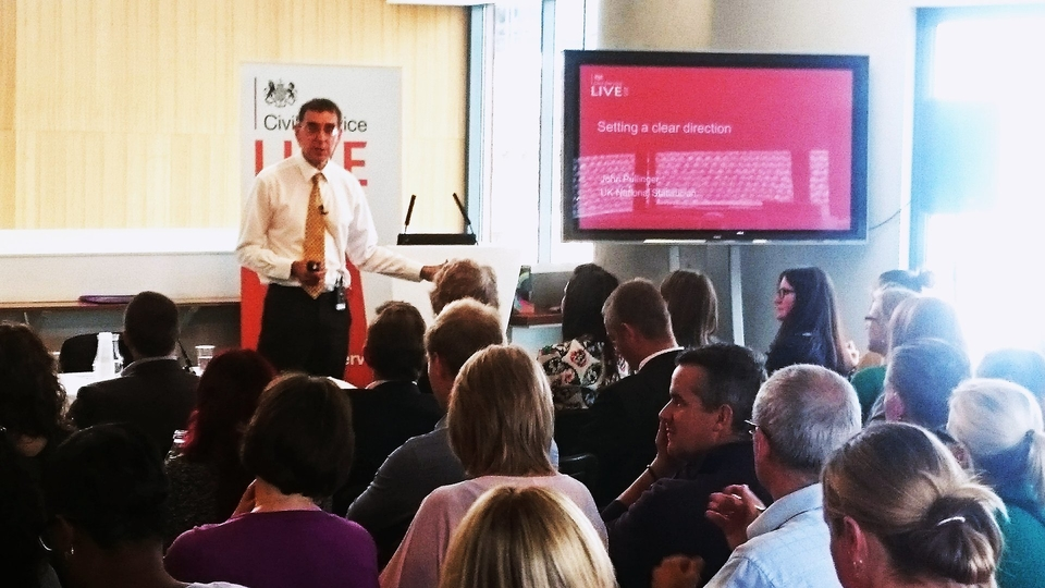 John Pullinger at Civil Service Live