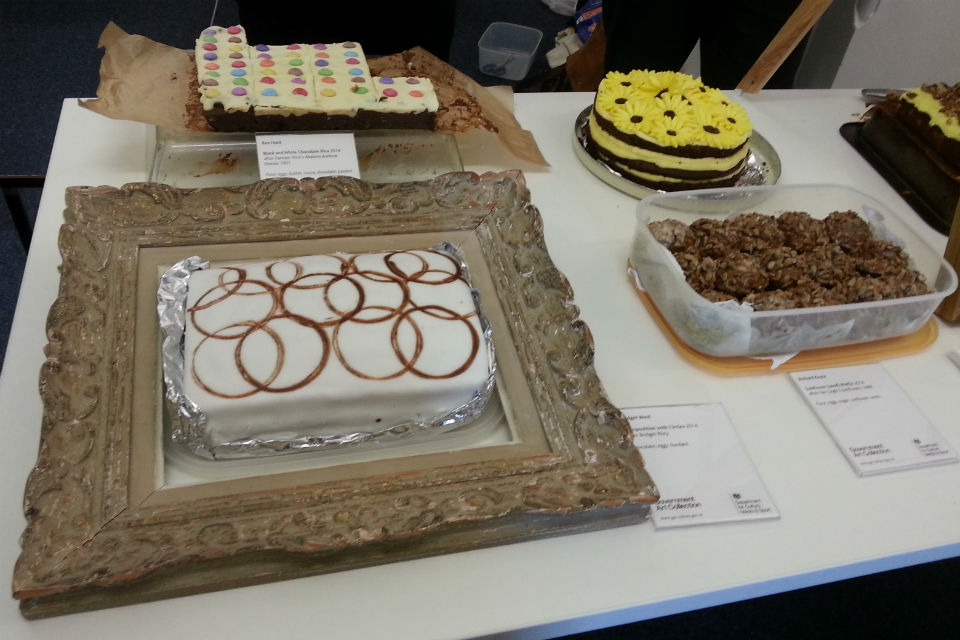 Bake club cakes inspired by famous artists