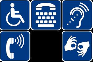 Symbols of disability